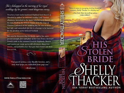 His Stolen Bride Print Cover by Shelly Thacker