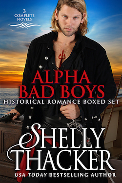 Alpha Bad Boys by Shelly Thacker