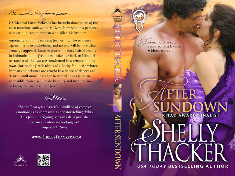 After Sundown Print Cover by Shelly Thacker