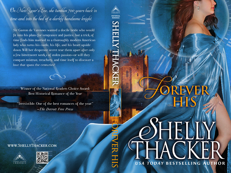 Forever His Print Cover by Shelly Thacker