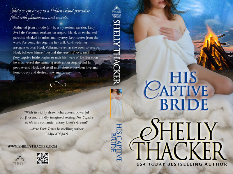 His Captive Bride Print Cover by Shelly Thacker