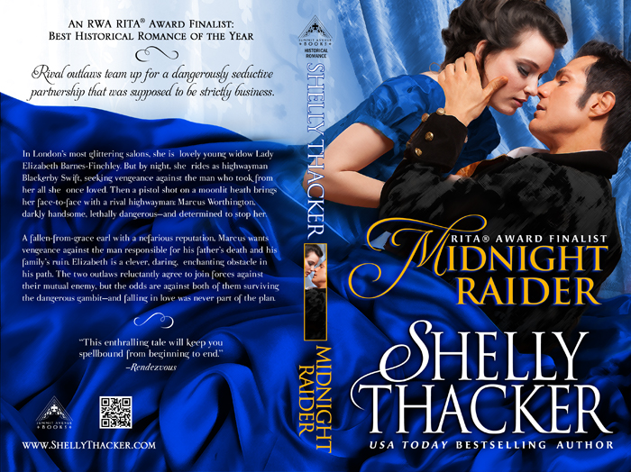 Midnight Raider Print Cover by Shelly Thacker