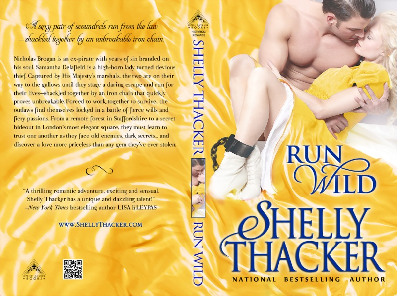 Run Wild Print Cover by Shelly Thacker