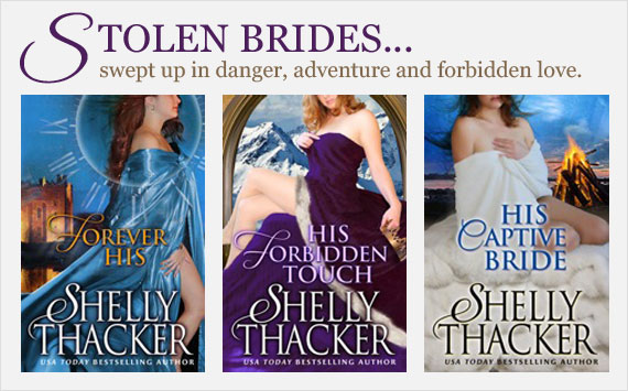 Stolen Brides series by Shelly Thacker